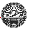 Seal of the City of Campbell - Incorporated 1908